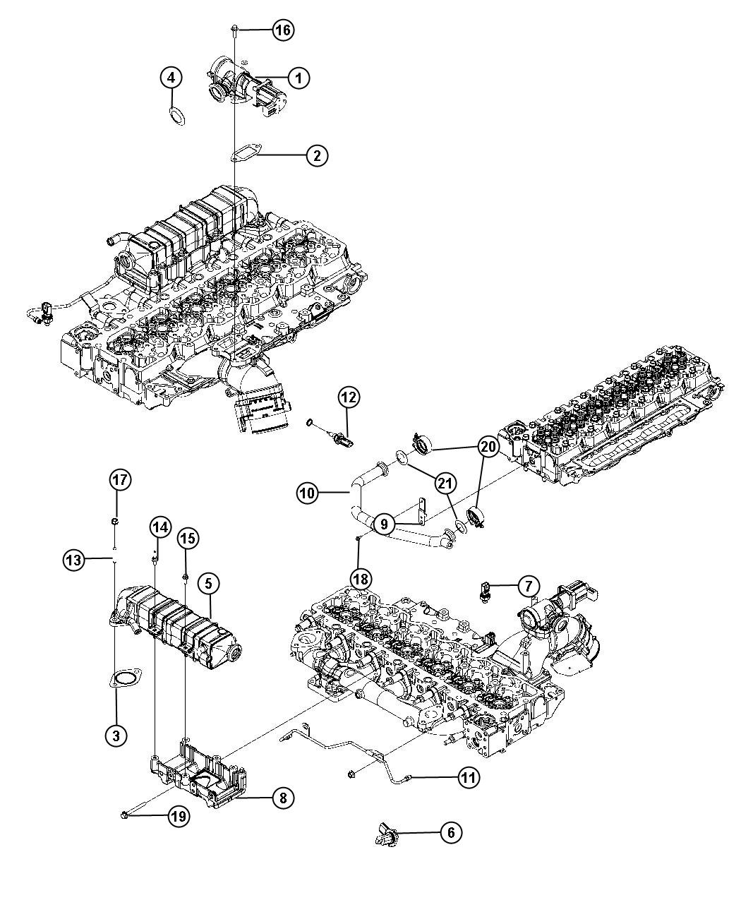 Dodge Ram Sensor Mass Airflow
