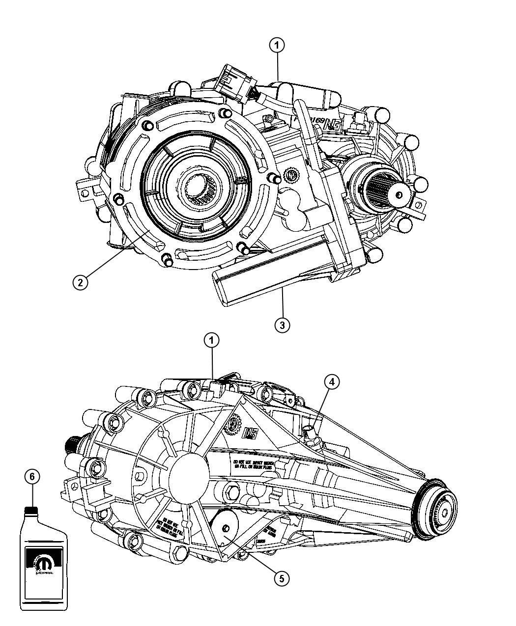Dodge Ram Transfer Case Nvg246 Remanufactured