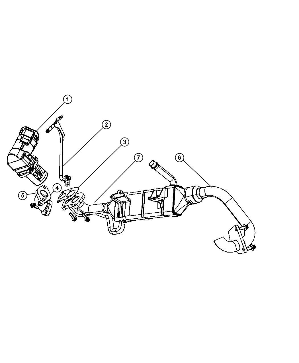 Jeep Grand Cherokee Tube Coolant To Egr Valve Previous