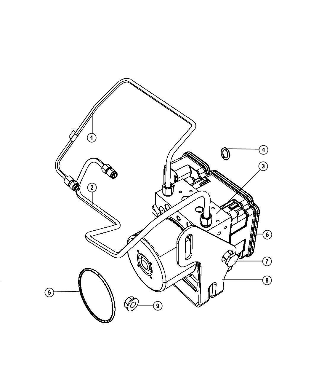 Jeep Grand Cherokee Module Anti Lock Brake System Use