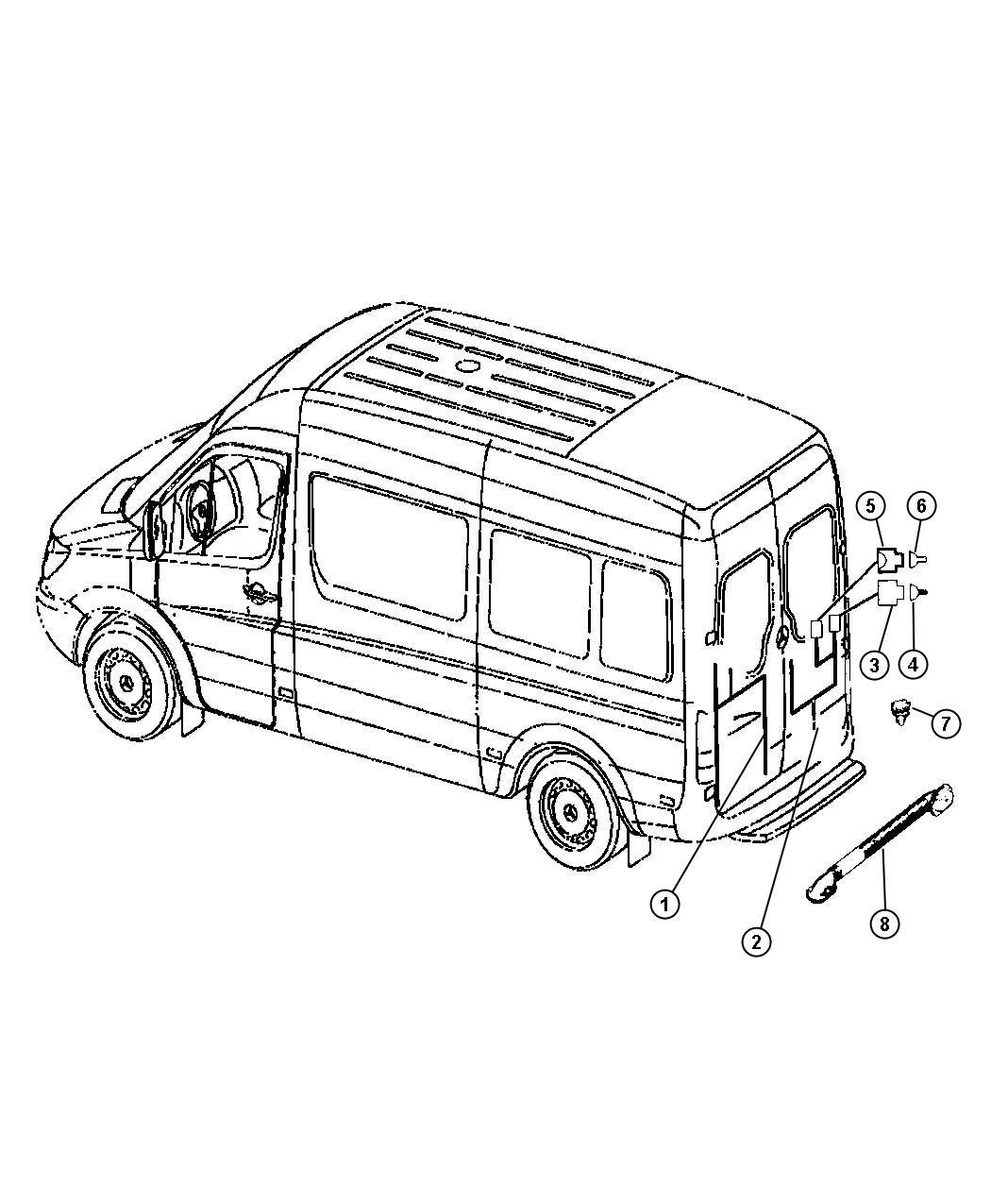 Dodge Sprinter Cover Grommet Wiring