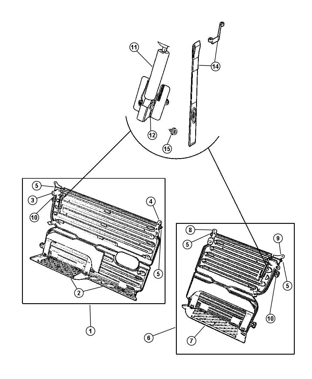 Dodge Ram Load Floor Cargo