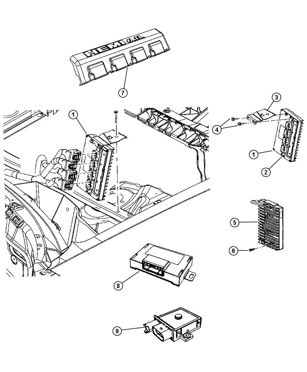 Jeep Grand Cherokee Module Transmission Control