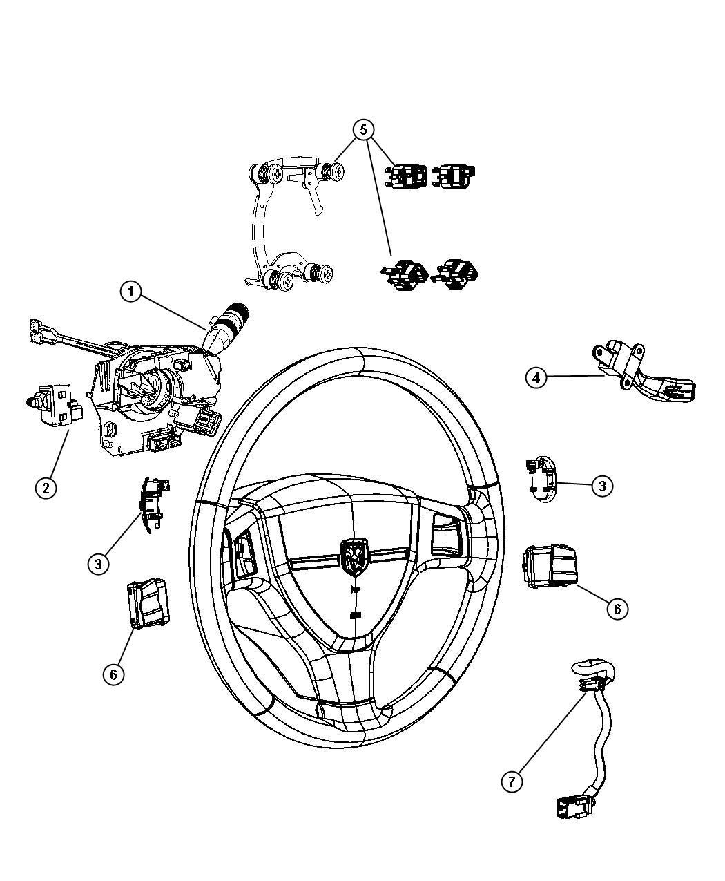 Dodge Grand Caravan Wiring Steering Wheel Luxury