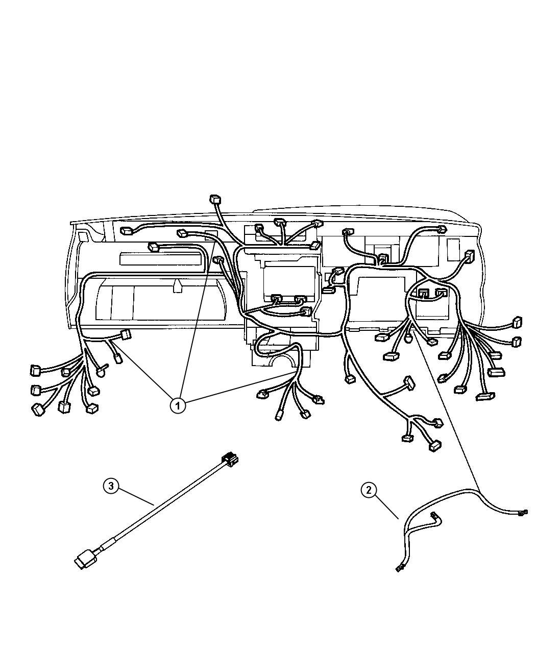 Jeep Commander Wiring Instrument Panel Air