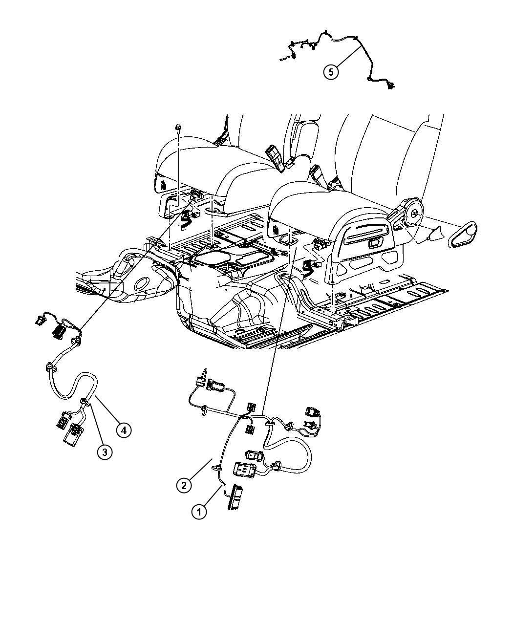 Jeep Liberty Wiring Power Seat 2 Way Heated Trim