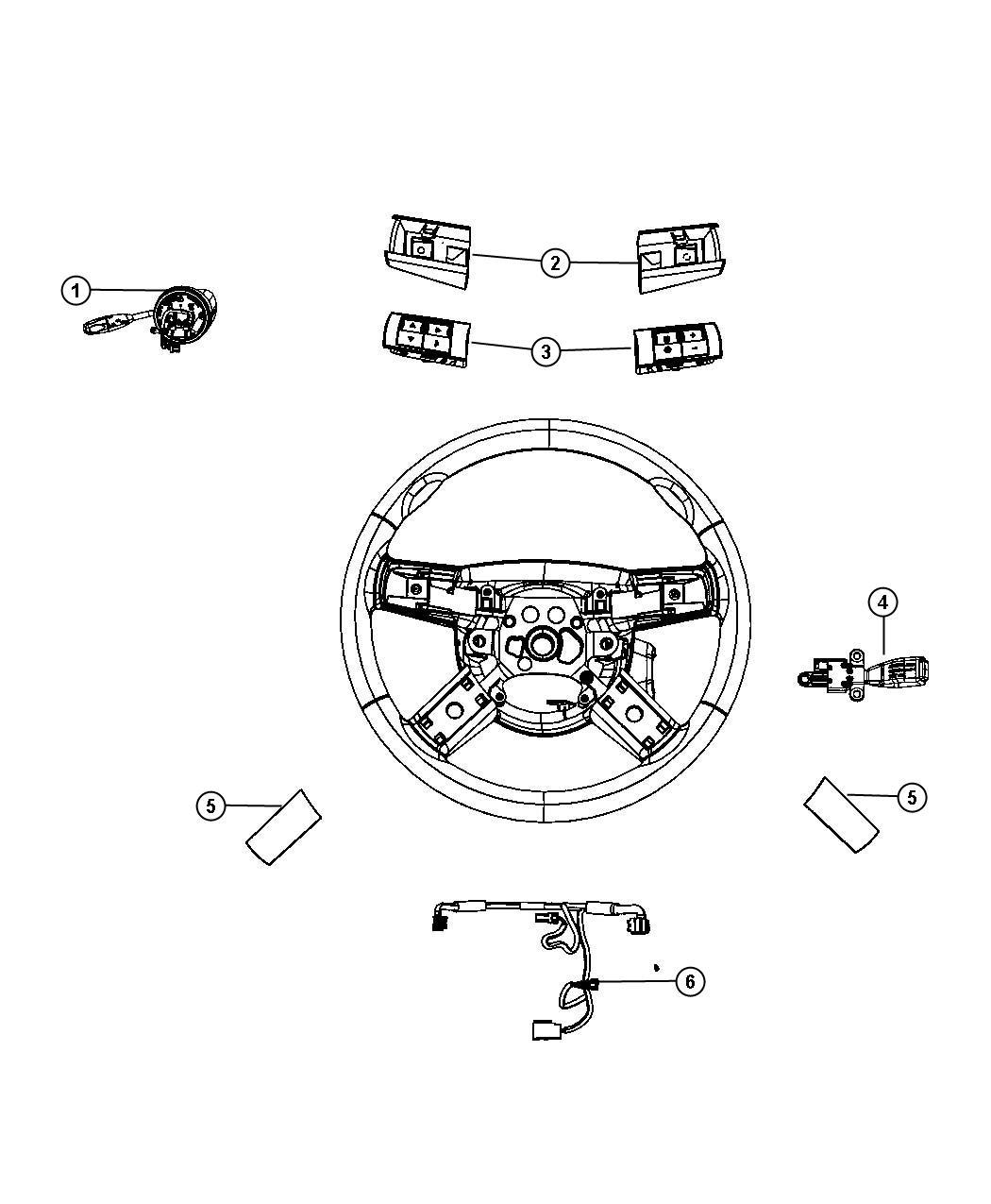 Dodge Challenger Wiring Steering Wheel Trim All Trim