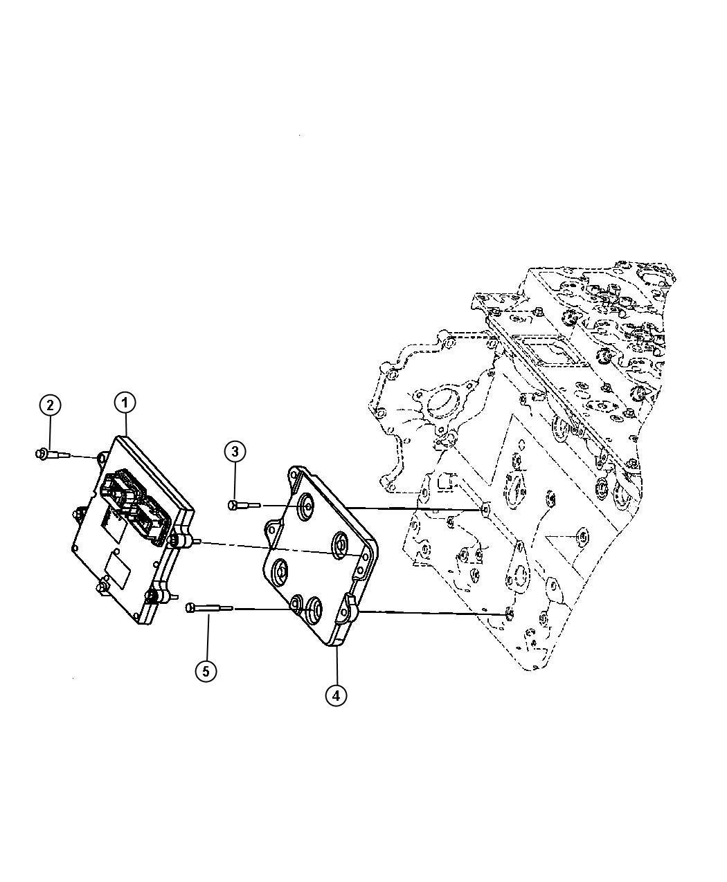 Dodge Ram Module Engine Controller Coolerblackruby