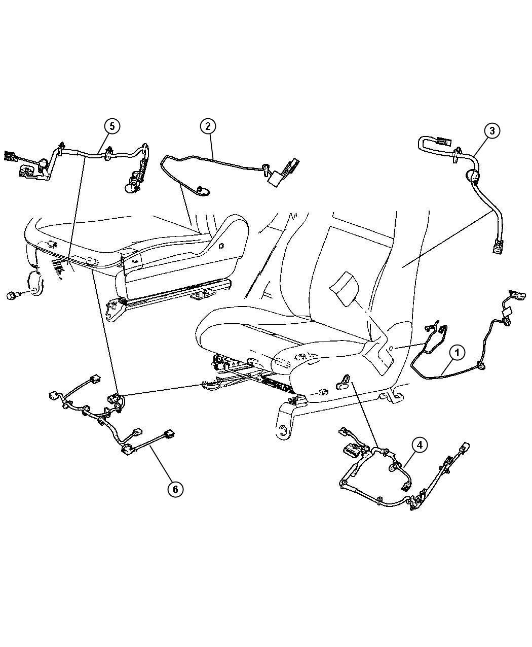 Jeep Grand Cherokee Wiring Power Seat Active Head