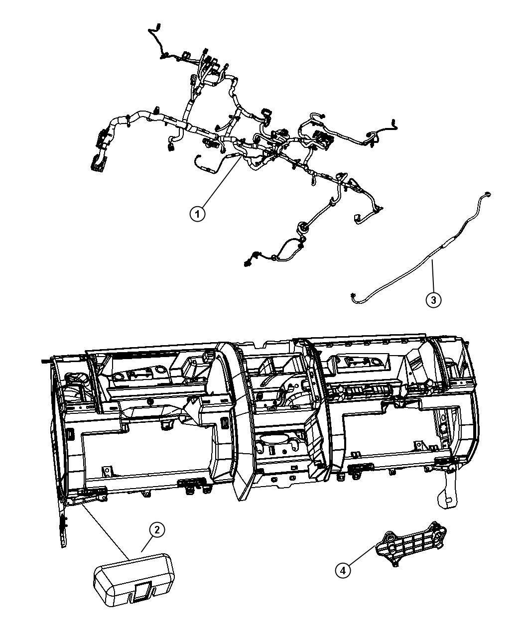 Jeep Liberty Wiring Instrument Panel