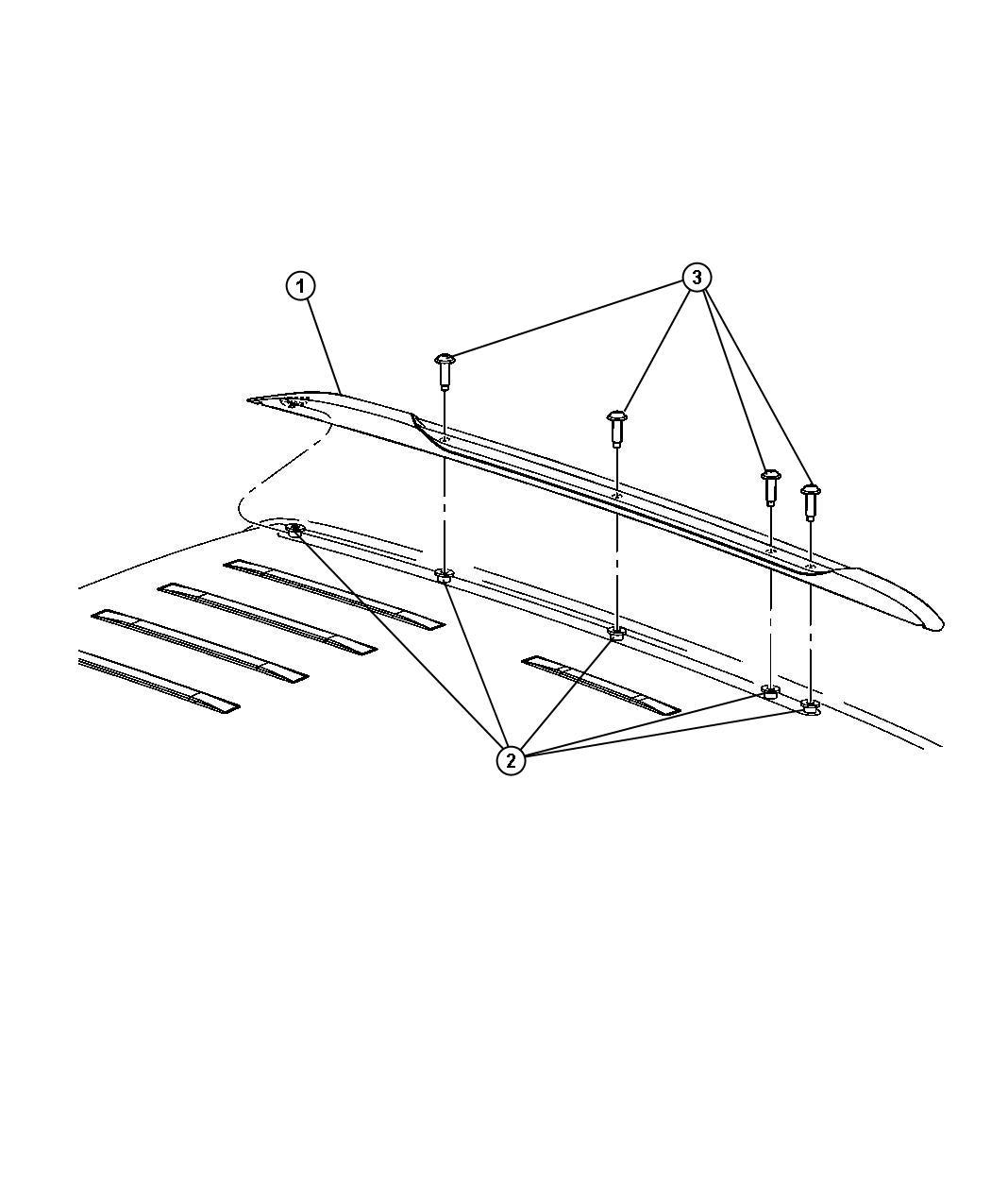 Side Roof Rack Rails