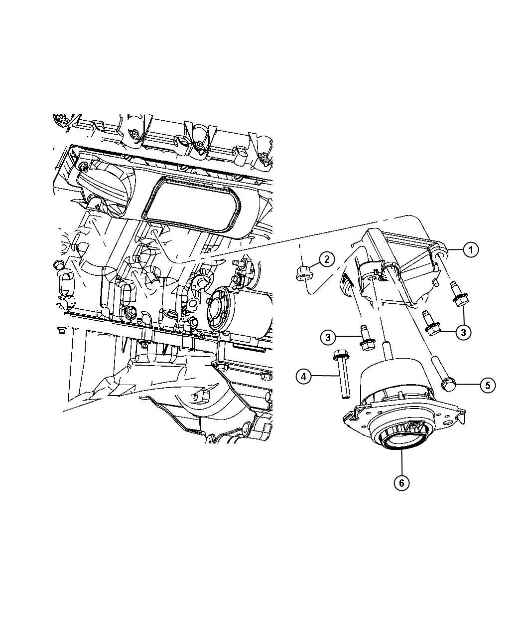 Chrysler Voyager Bolt Used For Bolt And Washer Hex Head