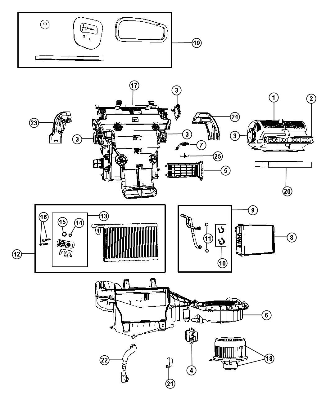 Jeep Motor Blower With Wheel
