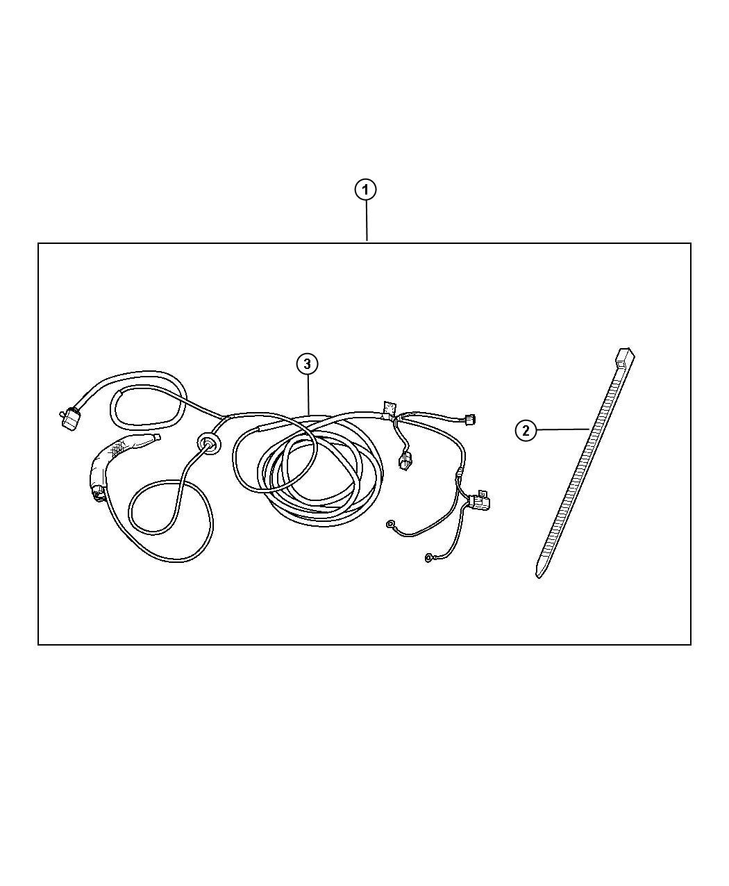 Jeep Patriot Trailer Tow Wiring Harness Kit With Four Way