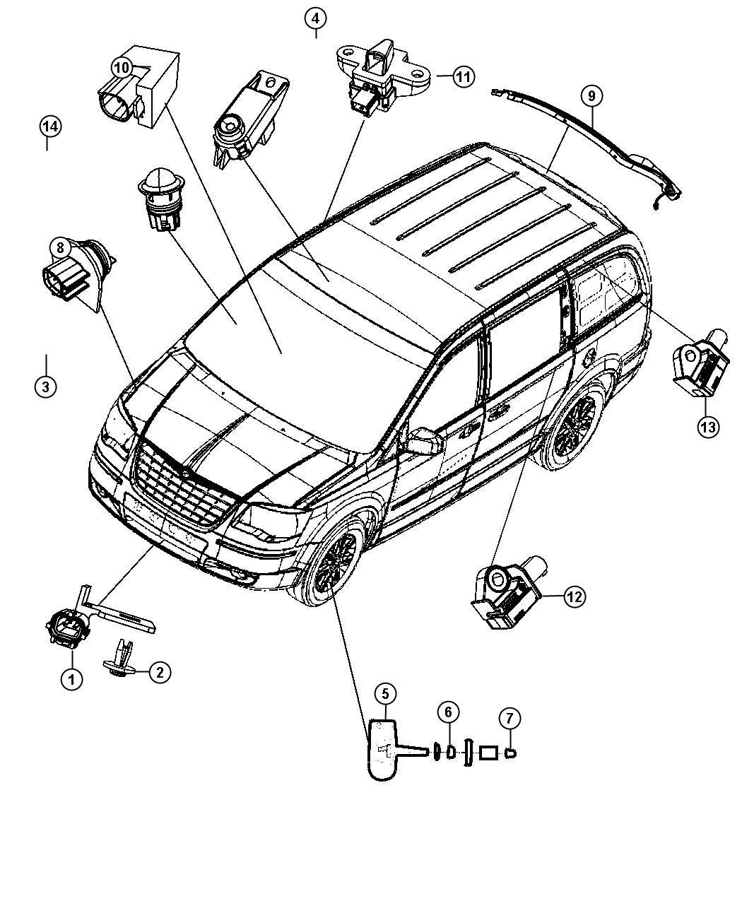 Dodge Sensor Acceleration Left Right Bagsnext