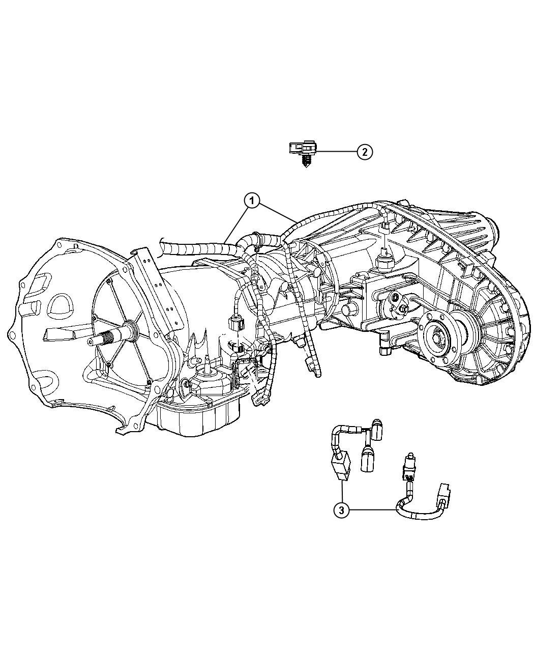 Ram Wiring Transmission Elec Shift On The Fly