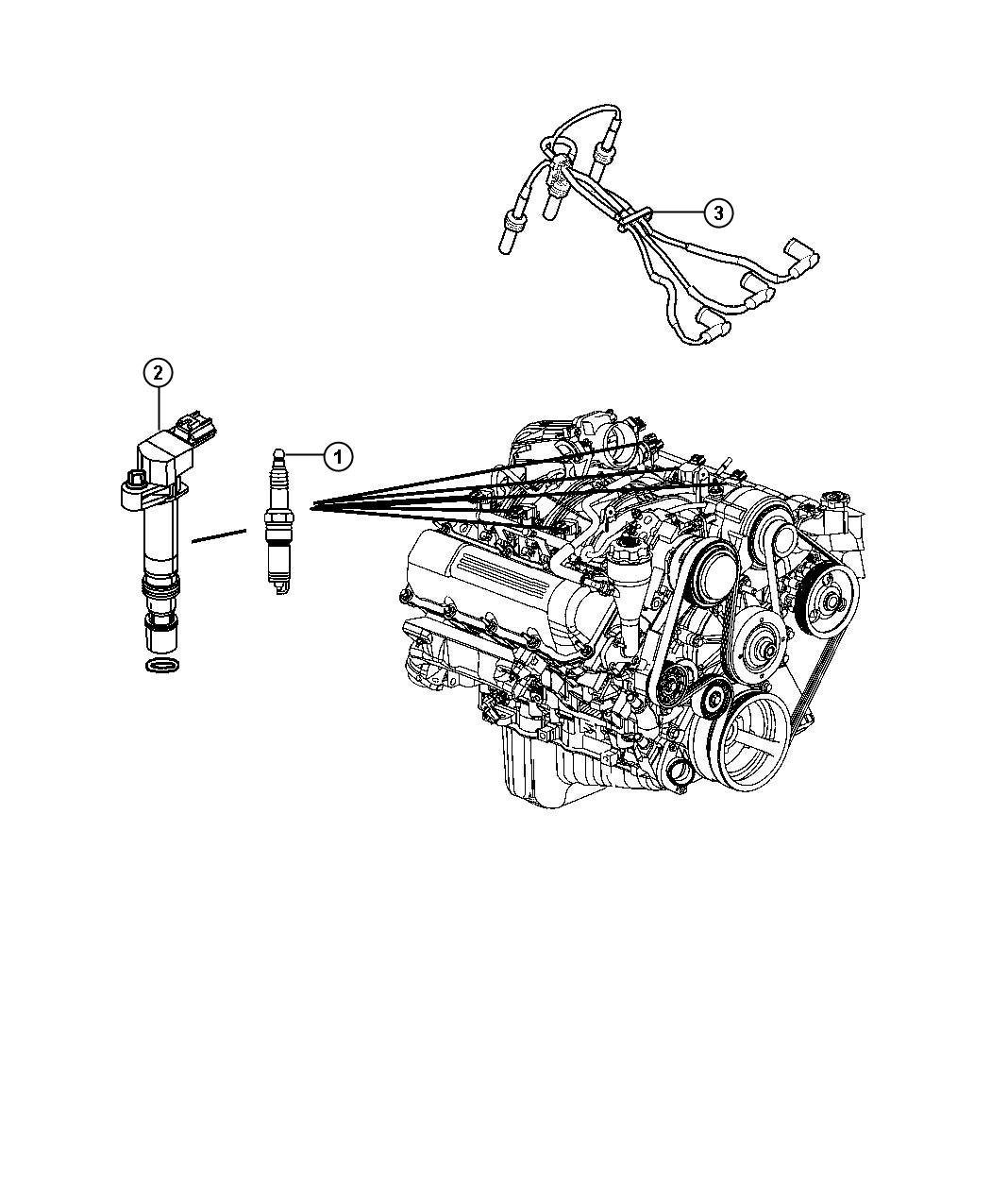 Jeep Liberty Spark Plugs And Ignition Coil