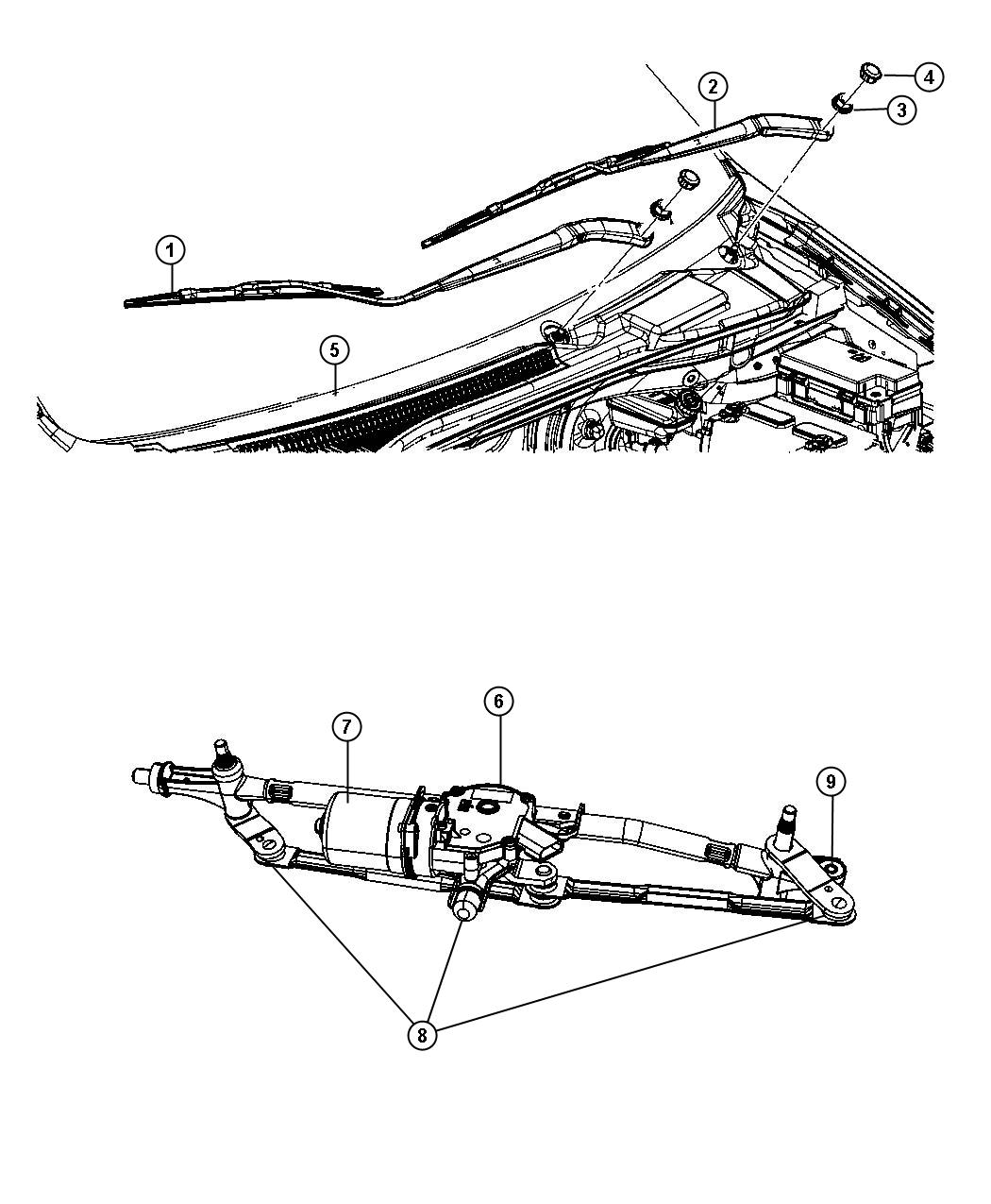 Dodge Grand Caravan Used For Motor And Linkage