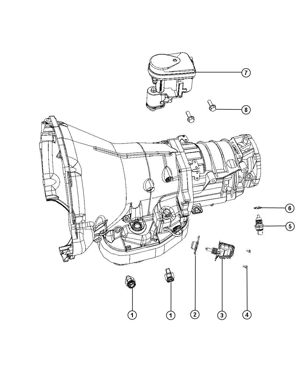 Dodge Ram Lever Auto Trans Throttle Control