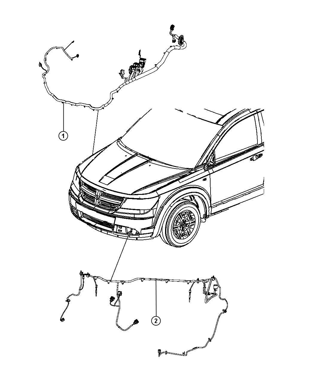 Dodge Journey Wiring Headlamp To Dash Export Active