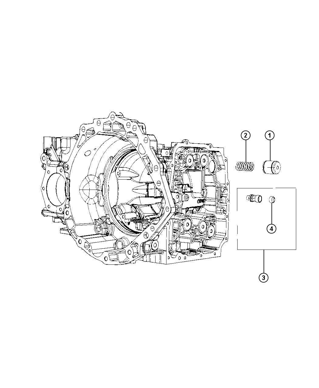 Chrysler Pt Cruiser Spring Accumulator Inner Underdrive