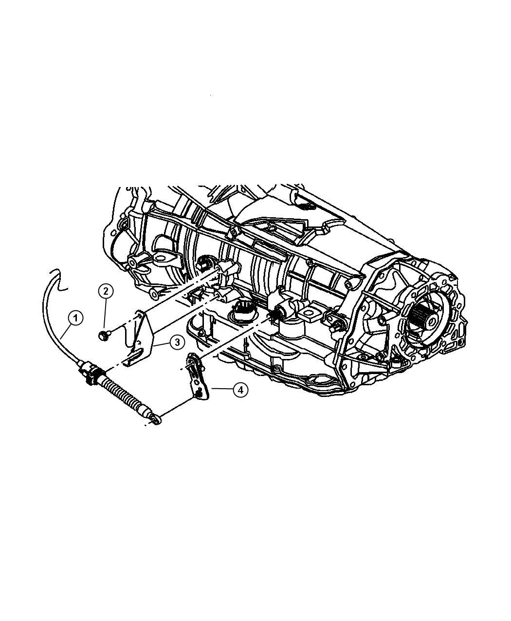 Dodge Durango Lever Manual Control With Floor Mount