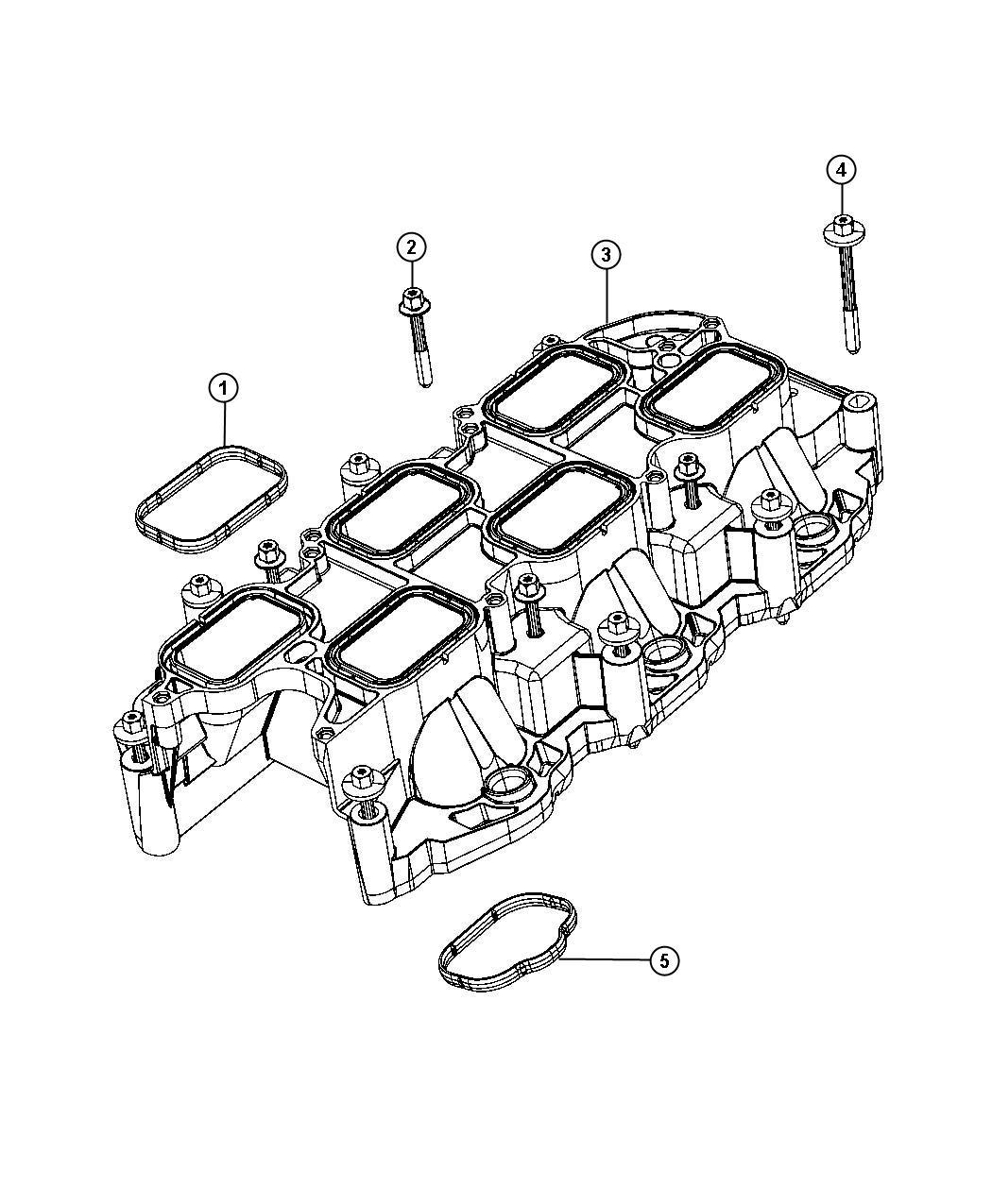 Jeep Wrangler Manifold Intake Lower