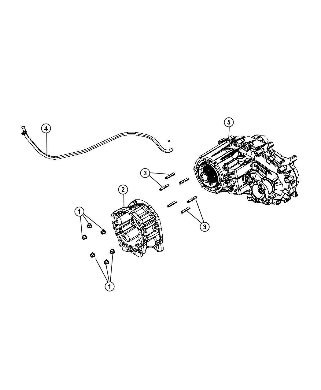 Jeep Wrangler Transfer Case Np241 Dhe Moduleman Dgj