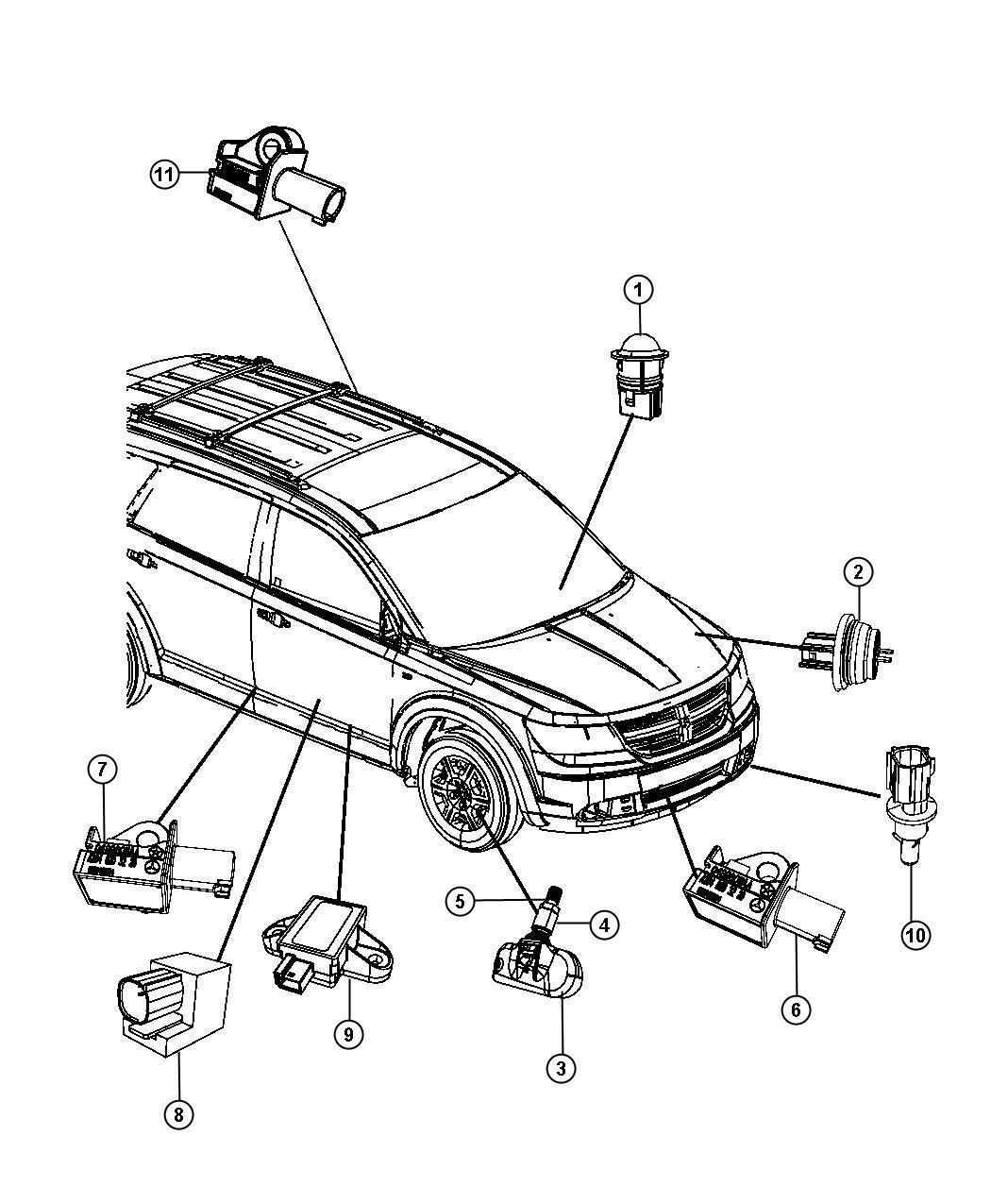 Jeep Grand Cherokee Sensor Air Temperature Twist