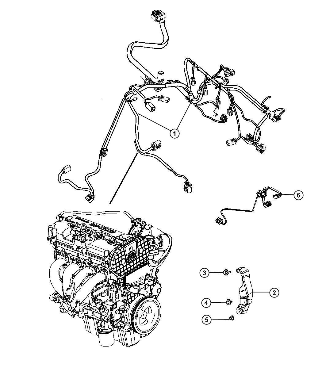 Chrysler 200 Wiring Jumper Air Pump