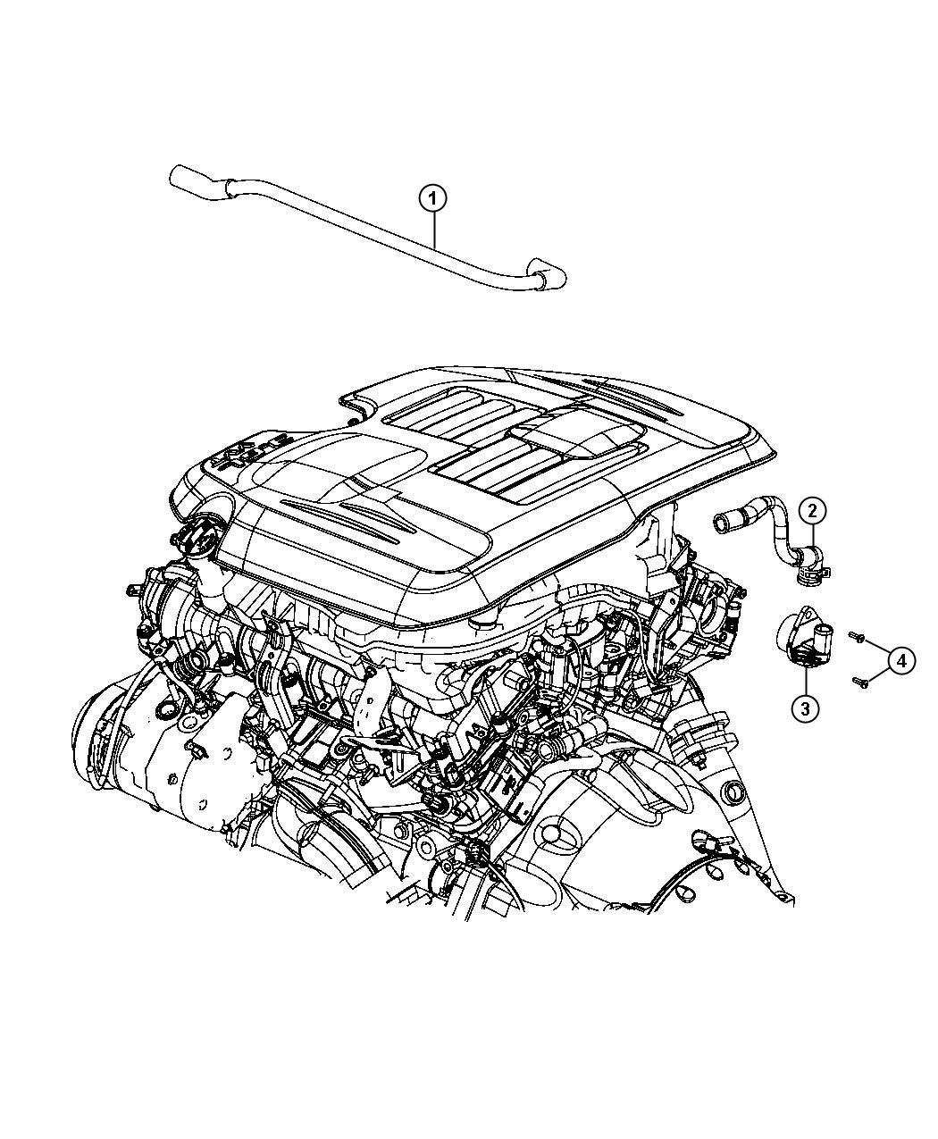 Dodge Charger Valve Pcv