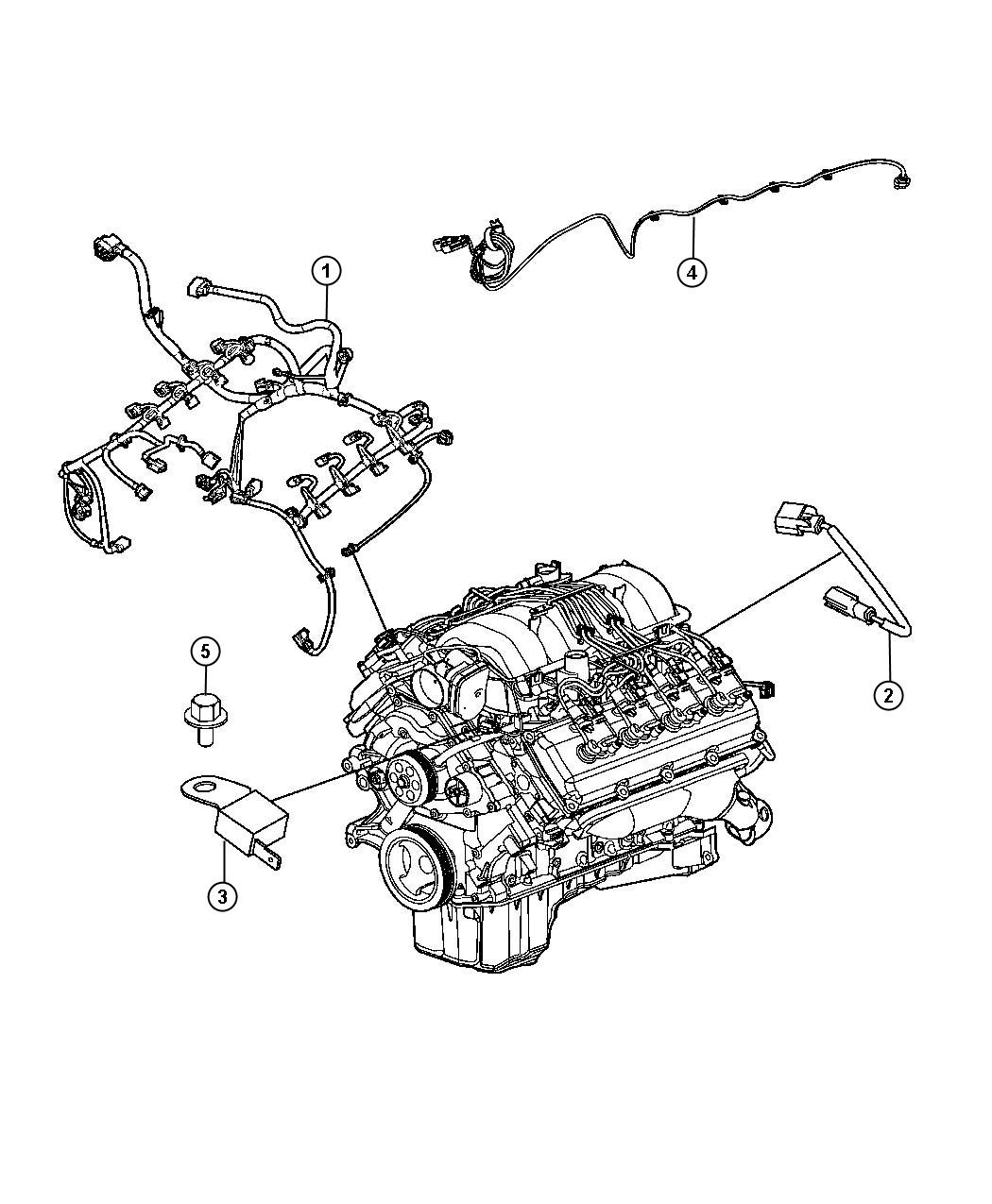 Chrysler 300 Wiring Engine