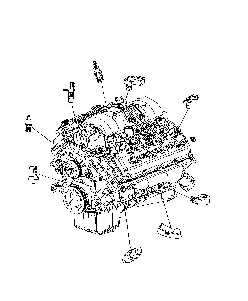 Dodge Ram Sensor Crankshaft Position