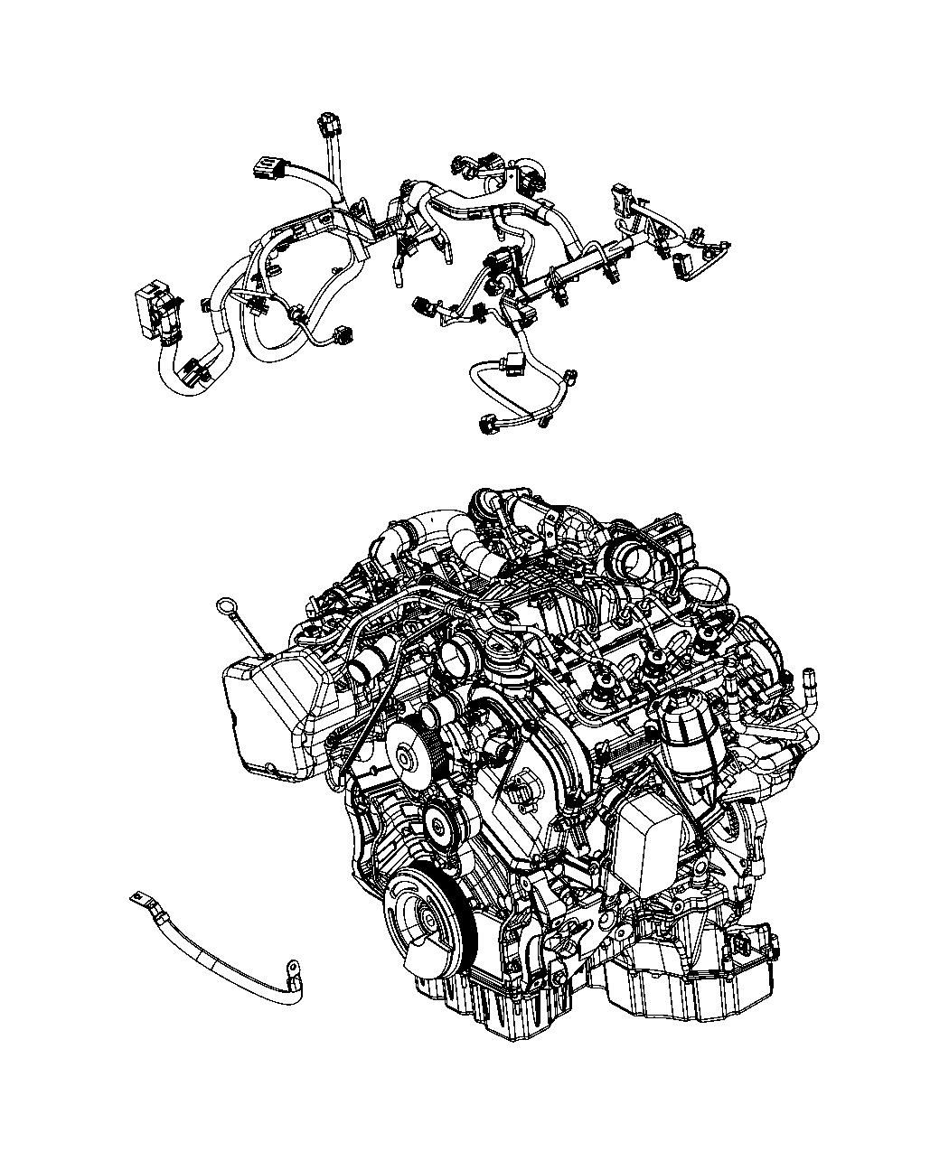 Jeep Grand Cherokee Wiring Injector 50 State Emissions