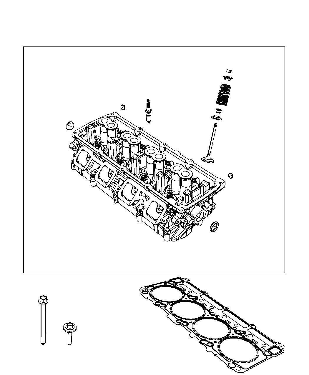 Jeep Grand Cherokee Spark Plug Left Left Cylinder Head