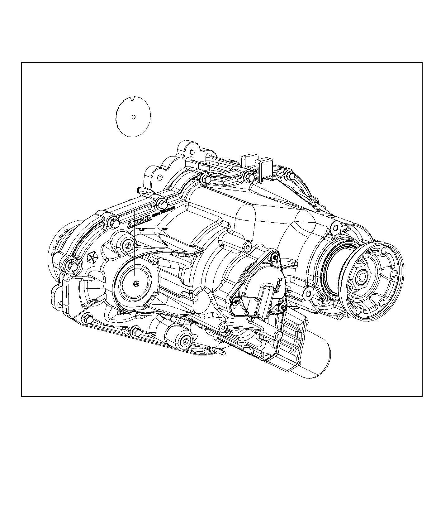 Jeep Grand Cherokee Transfer Case