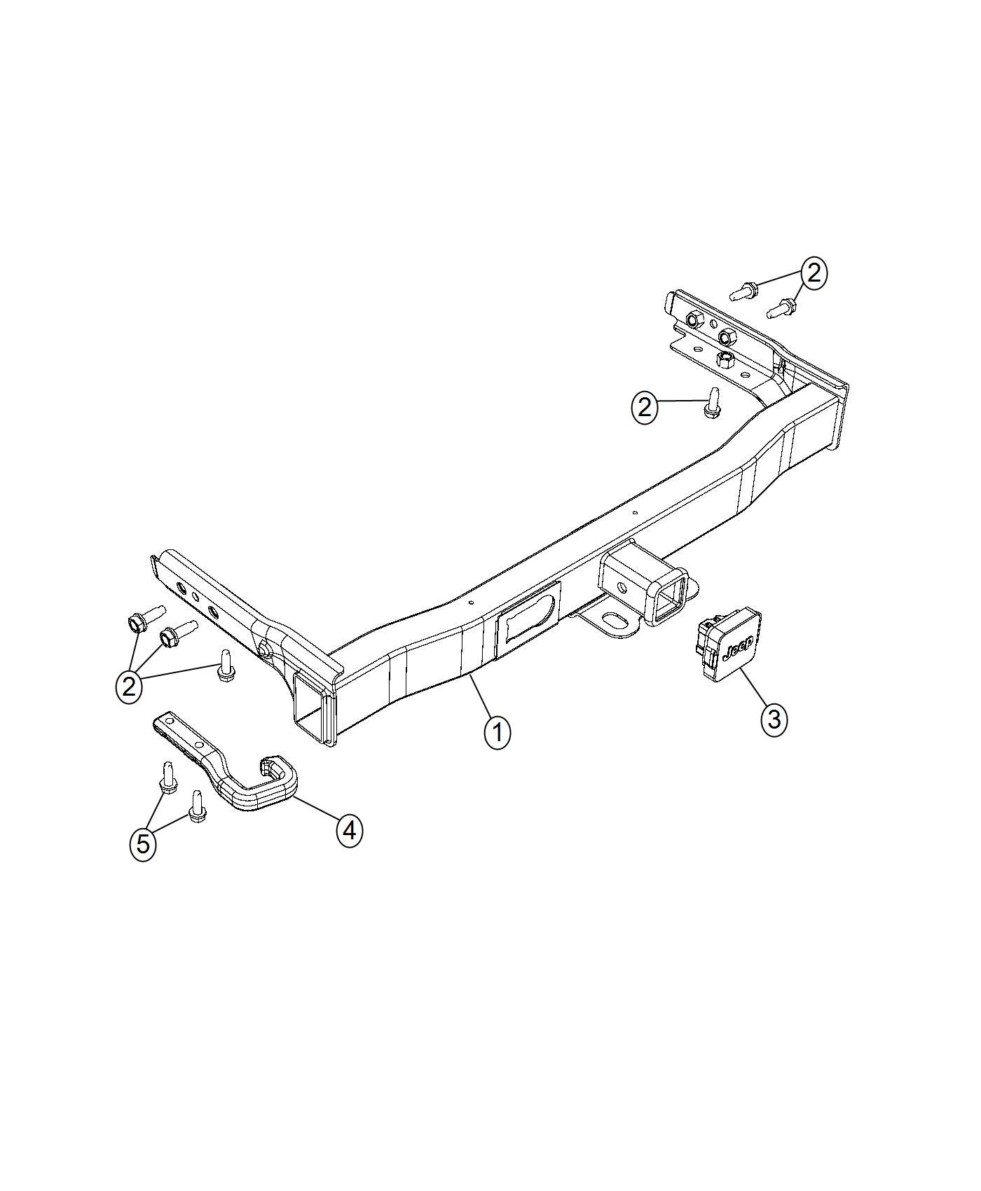 Jeep Cherokee Hitch Trailer Class Iii Receiver