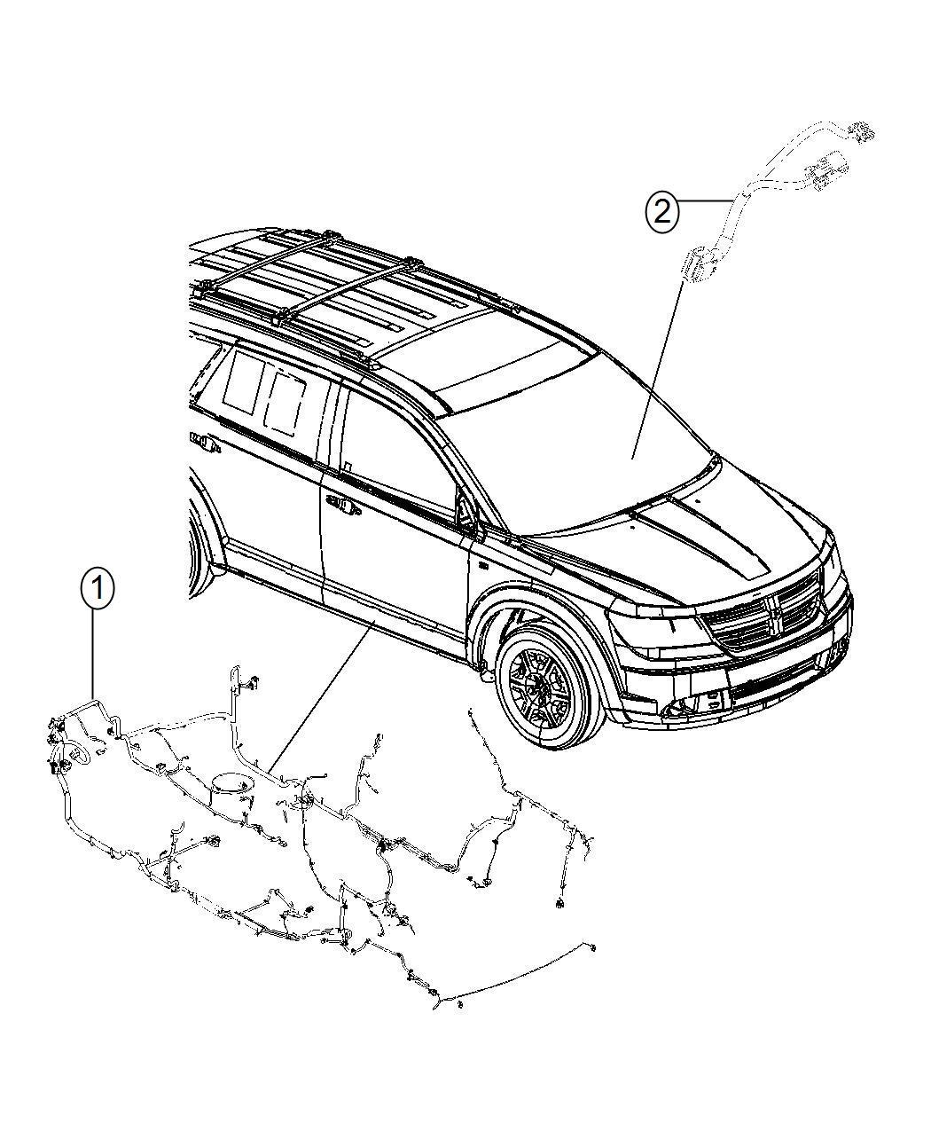 Dodge Journey Wiring Unified Body Export 6 Premium