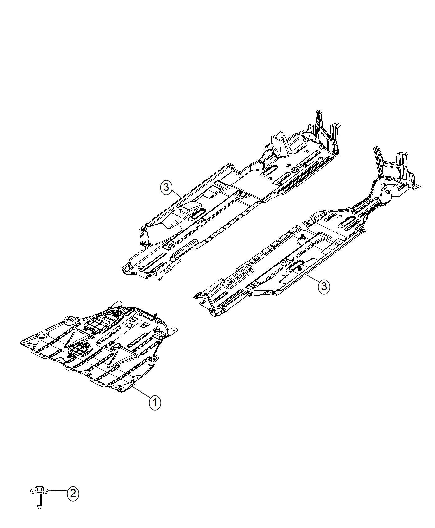 Chrysler 200 Belly Pan Front 3 6l V6 24v Vvt Engine