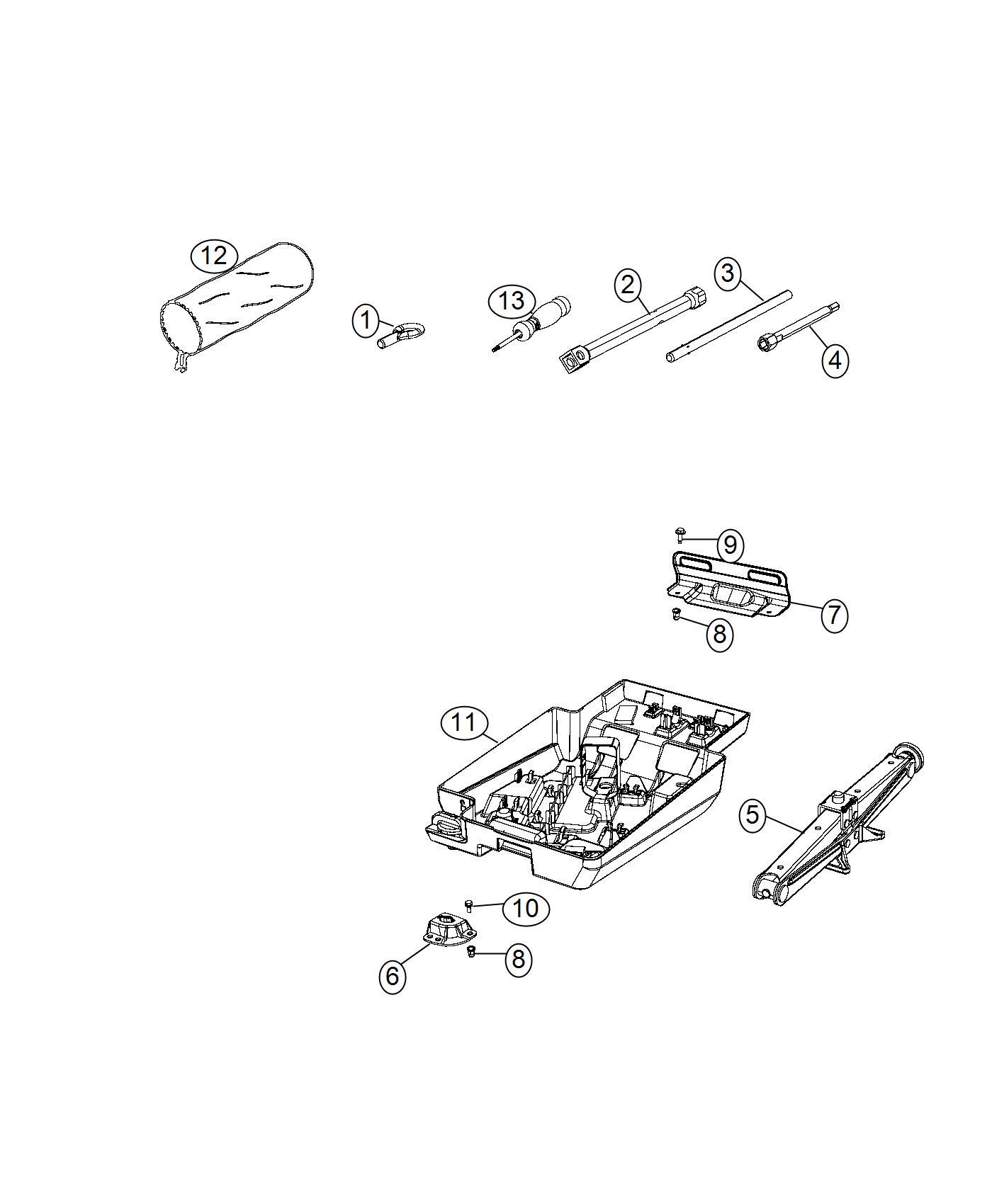 Ram Promaster Wrench Wheel Lug Nut Driver Swivel Seat