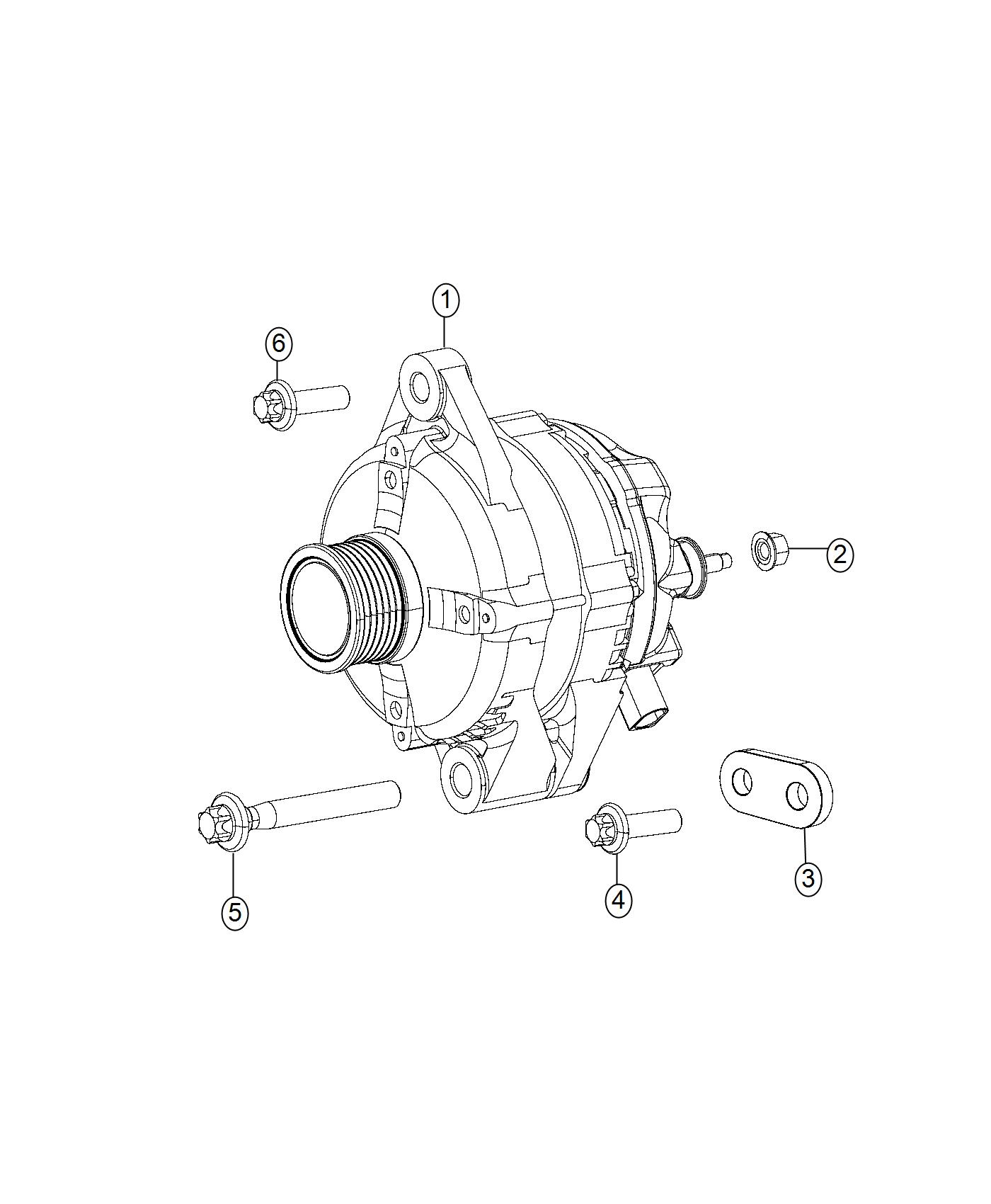 Jeep Compass Generator Engine