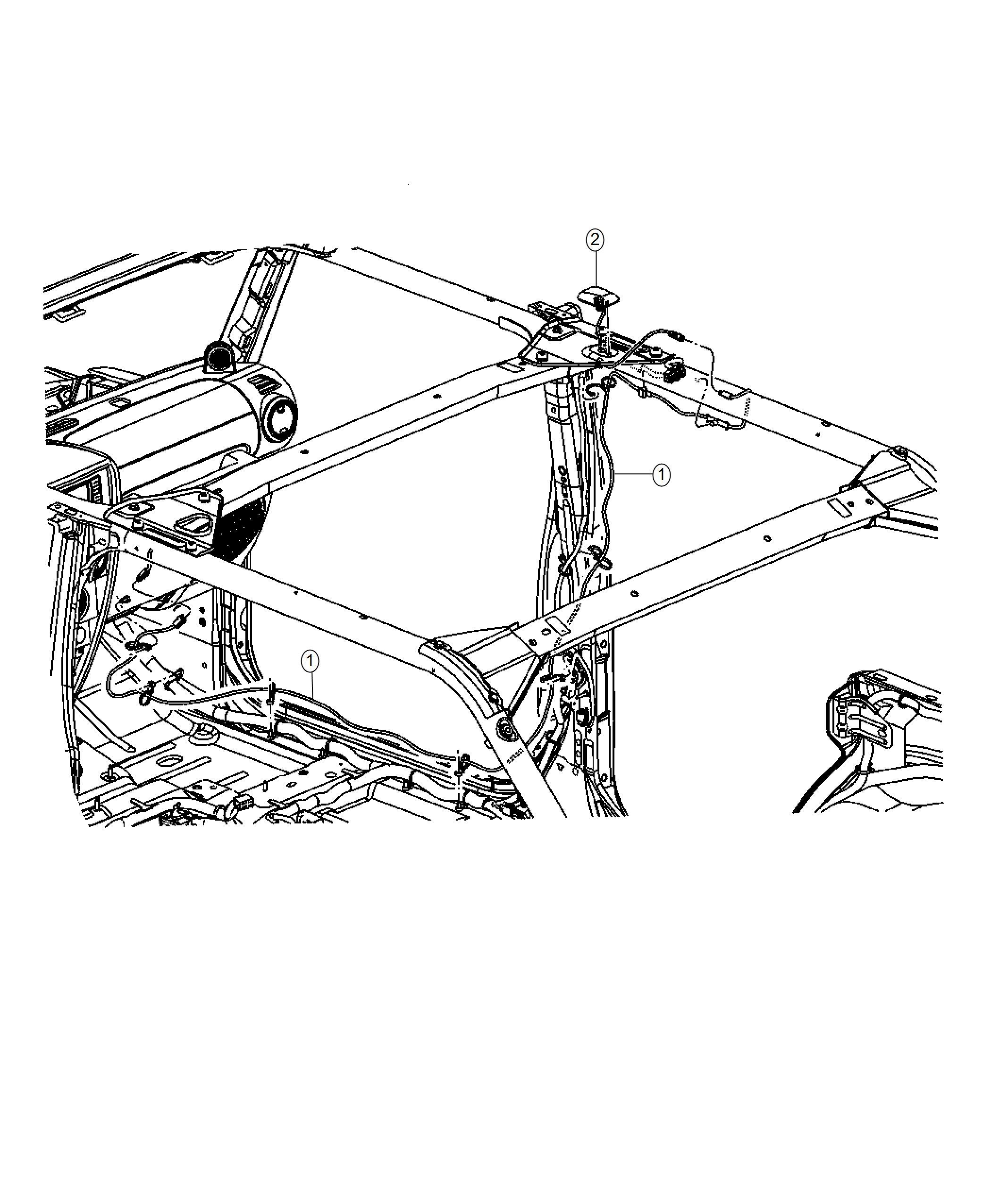 Jeep Wrangler Antenna Satellite Radiomedia Rscrhp