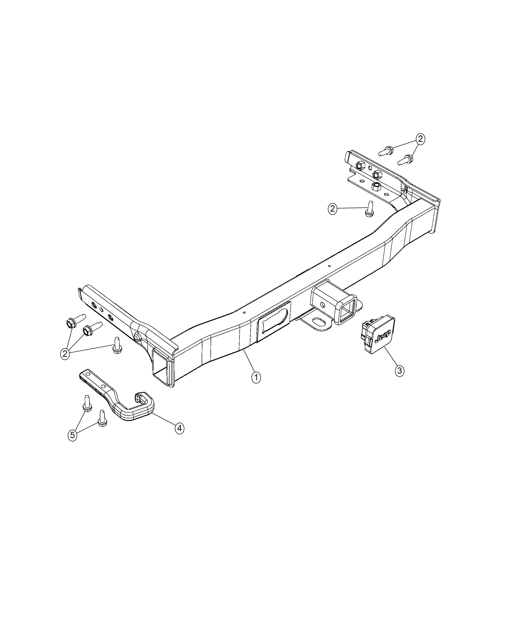 Jeep Cherokee Hitch Receiver Kit Trailer Trailer