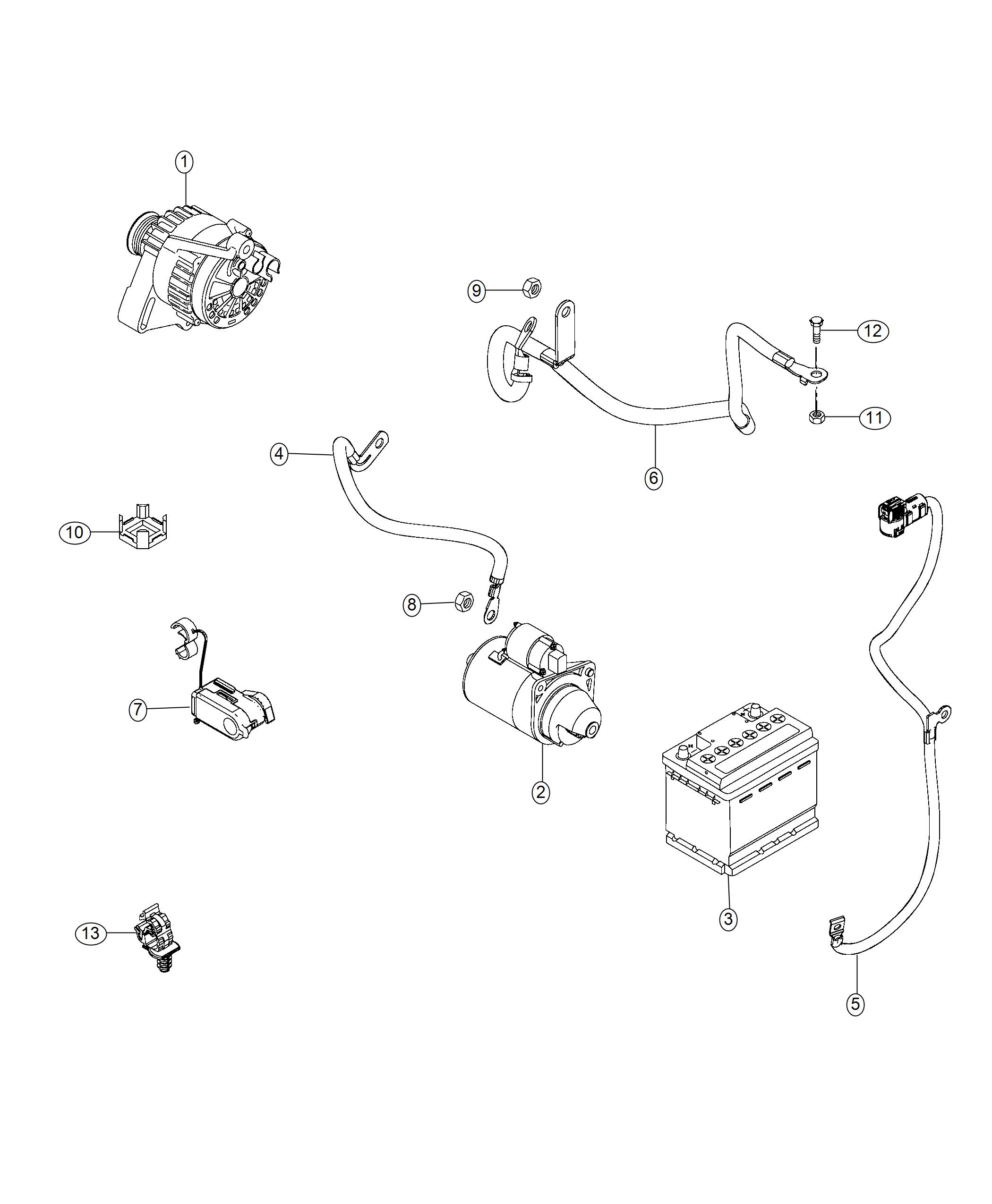 Jeep Renegade Wiring Battery Negative Export Stop