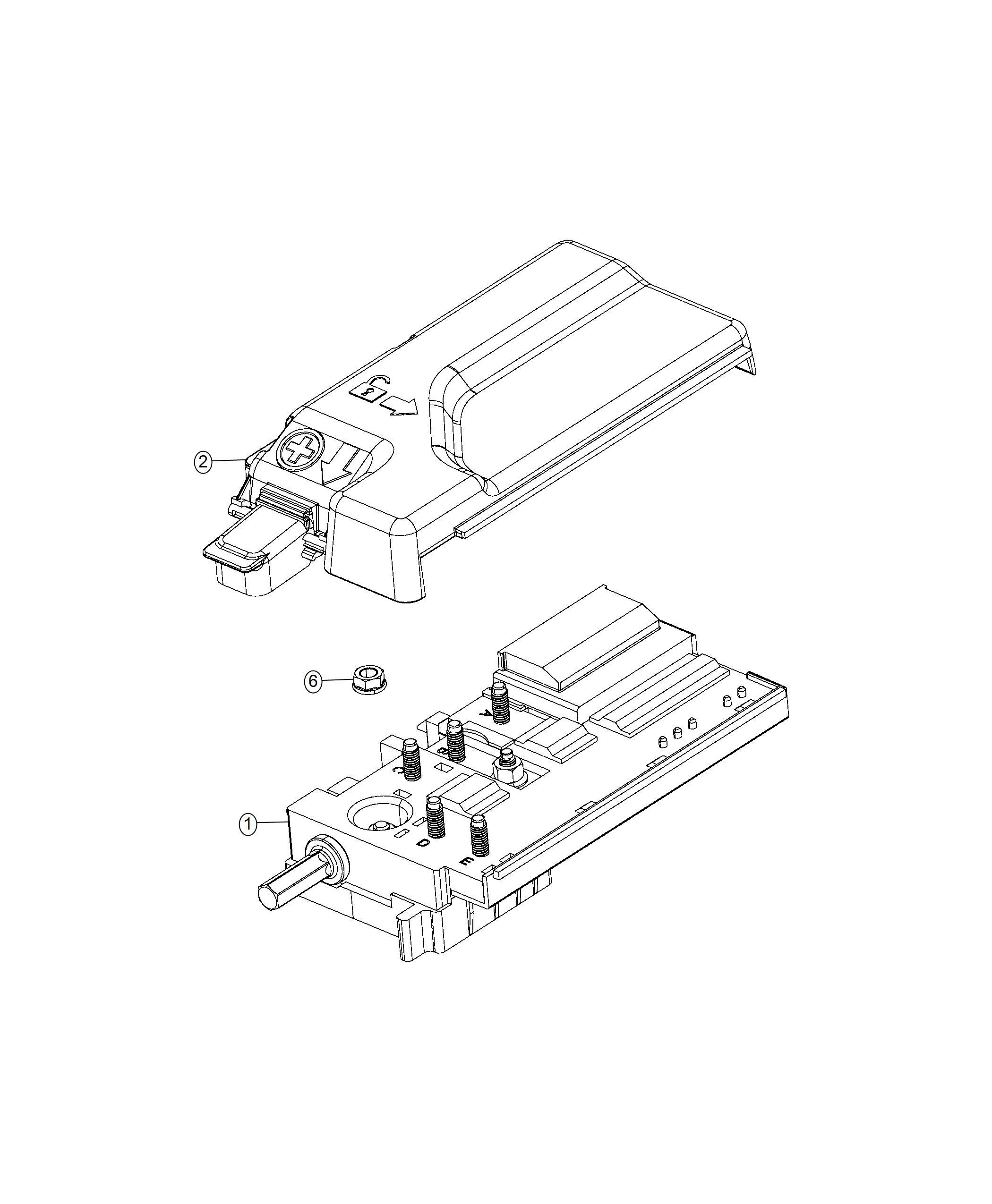 Chrysler Pacifica Fuse Box Pre Fuse Componentstrailer