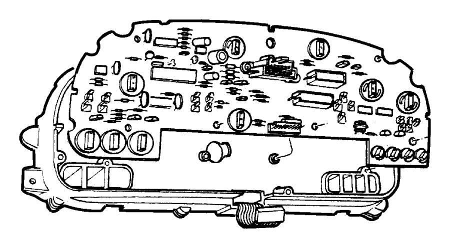Chrysler Grand Voyager Board Circuit Primaryinstrument