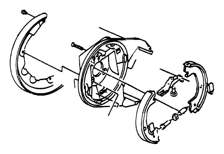 Chrysler 300 Nut Parking Brake Adjusting Right Or Left