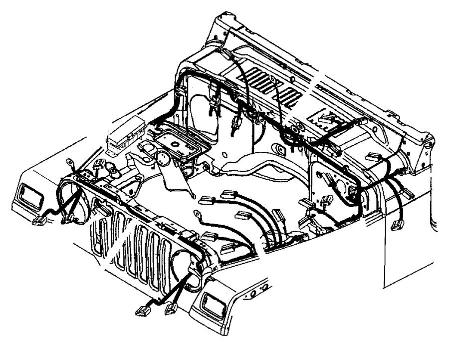 Jeep Wrangler Wiring Dash Panel