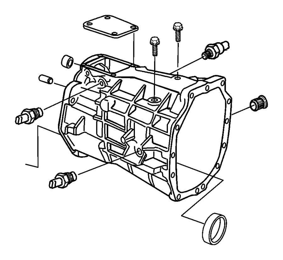 Dodge Viper Plug Oil Fill Transmission Drain Drain