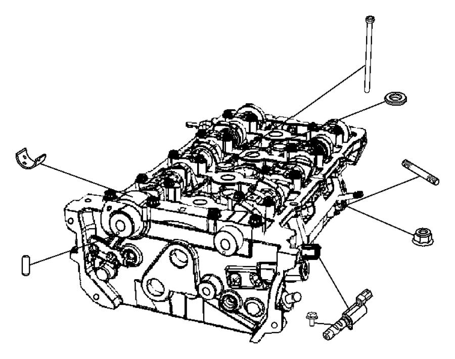 Intake Manifold 2 4l 2 4l I4 Dohc 16v Dual Vvt Engine